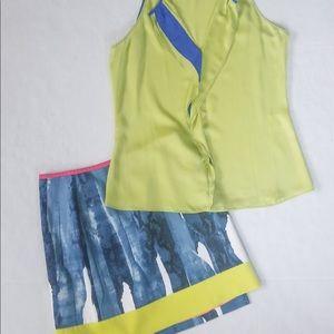 2 piece Tahari skirt and blouse.